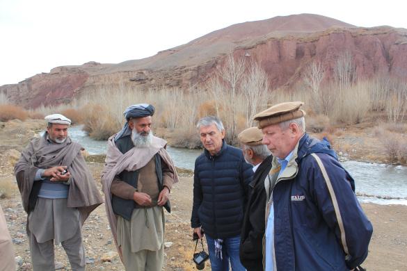 В Афганистане найдены останки советского воина. экспедиция