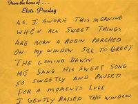 Стих об убитой королем рок-н-ролла птице продан за 20 тысяч