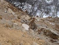 В Киргизии оползень накрыл село