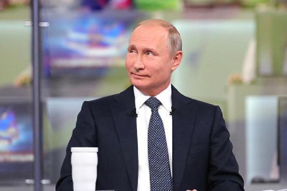 """Путин вспомнил о Трампе, """"толкающем Европу"""" в его объятия. 387842.jpeg"""
