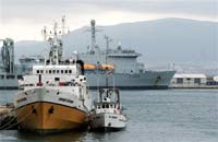 В порт Новороссийска зашло судно-гигант