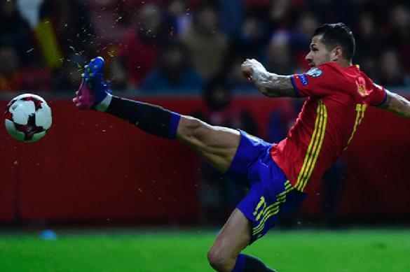 Испания готовится к серии пенальти в матче с Россией. 388845.jpeg