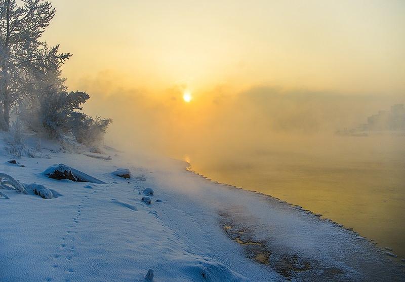 Пятидесятиградусные морозы наступят в России на этой неделе. Пятидесятиградусные морозы наступят в России на этой неделе