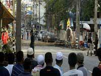 В Таиланде при взрыве бомбы получили ранения семь человек