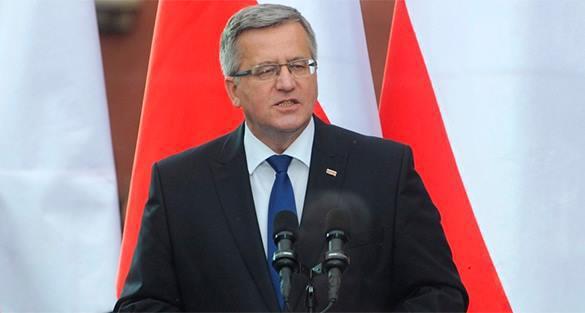 В Киев приехал польский президент Коморовский. коморовский польша президент