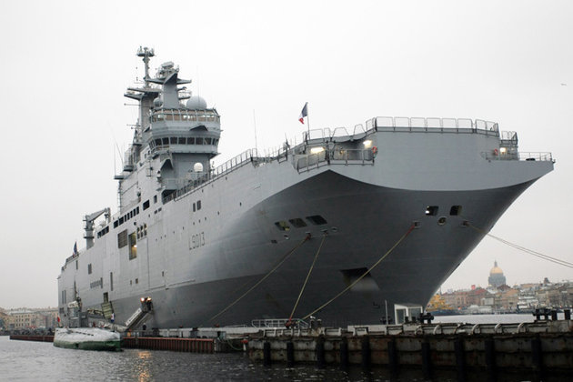 """Россия и Франция пытаются договориться о """"Мистралях"""". Франция ищет компромисс по Мистралям"""