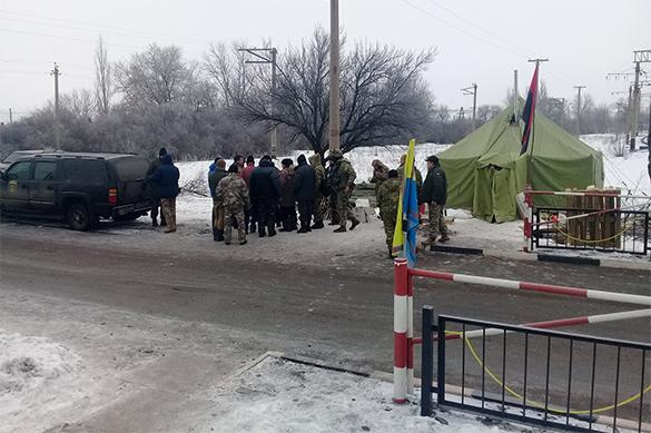 Украина проанонсировала второй этап блокады Донбасса. Украина проанонсировала второй этап блокады Донбасса