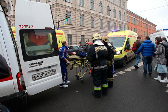 МЧС опубликовало список пострадавших при взрыве в метро в Петерб