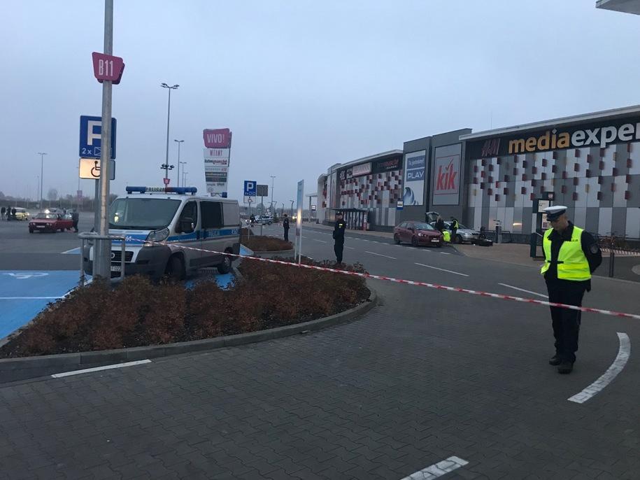 Милиция Польши несчитает нападение в коммерческом центре террористической атакой