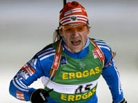 Чудову отказали во второй золотой медали ЧМ-2009 по биатлону