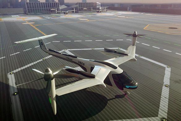 Uber иНАСА будут совместно работать над проектом летающего такси