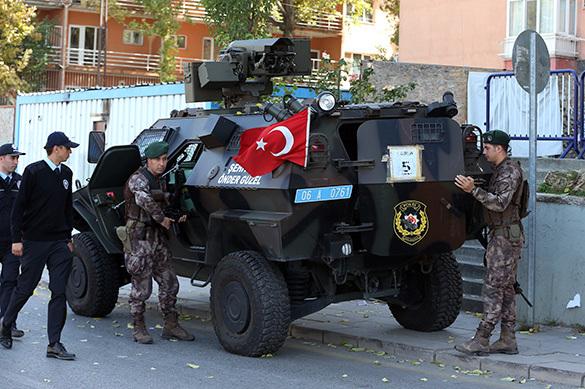 Турецкая Анталия подверглась ракетному обстрелу