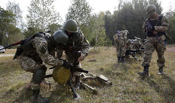 Украинские солдаты