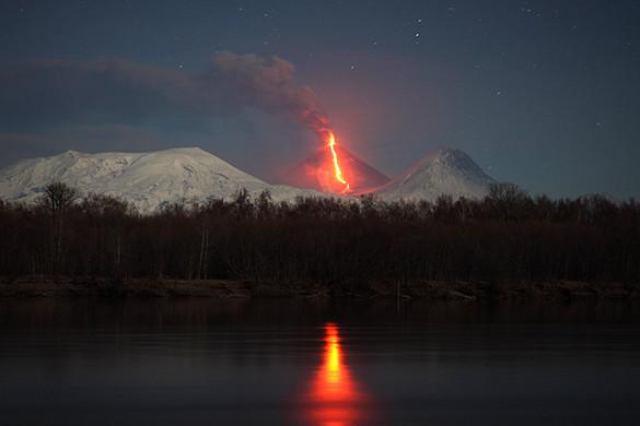Как древний вулкан репетировал