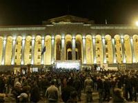 Грузинская оппозиция блокировала передвижения Саакашвили