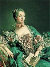 Сладострастная маркиза Де Помпадур, фаворитка французского