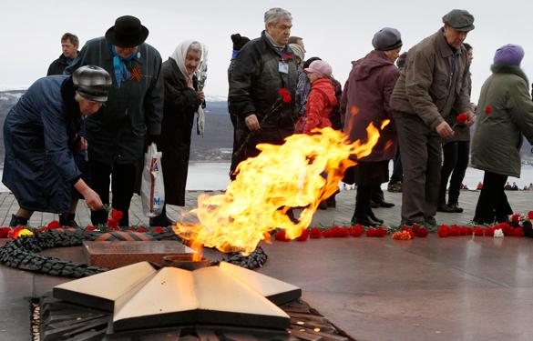 В Москве прошла акция Вахта памяти