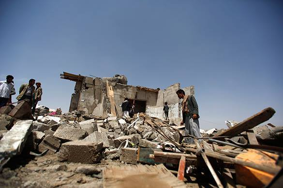 развалины в Йемене
