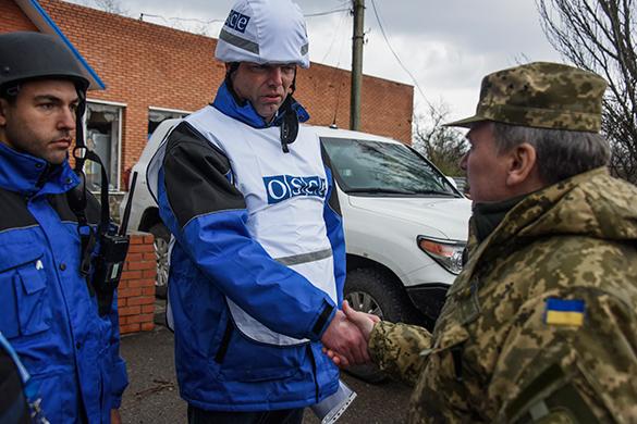 Украина требует полицию ОБСЕ для проведения выборов в Донбассе