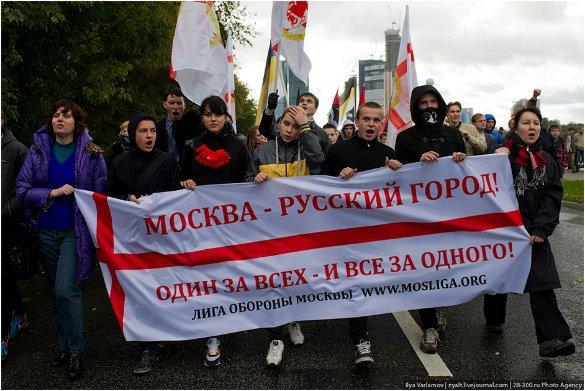 Москва - русский город