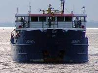 Российский сухогруз застрял в Средиземном море