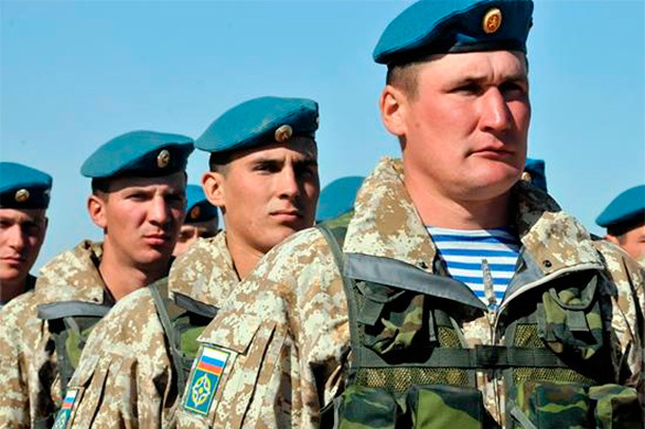 Президент поздравил военных с Днем ВДВ. Президент поздравил военных с Днем ВДВ
