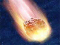 Немецкого подростка задел метеорит