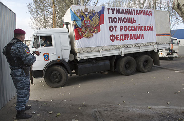 Пока Киев негодует из-за выборов в разрушенных им ЛНР и ДНР, из РФ туда идет 6-й гуманитарный конвой. 302864.jpeg