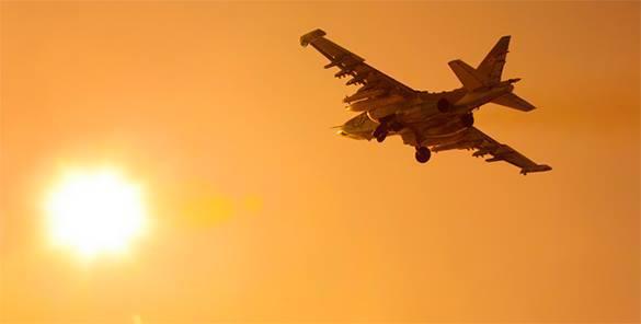 В Калининград для боевого применения переброшены истребители и бомбардировщики. Штурмовик в небе