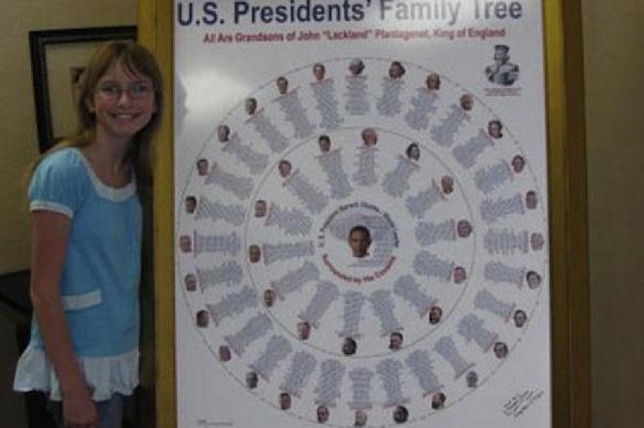 Открытие 12-летней девочки: все американские президенты - родственники Елизаветы II. 387865.jpeg