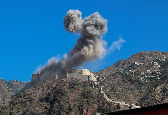 Саудовская Аравия снова бомбит Йемен. Йемен, авиаудар, бомбежка