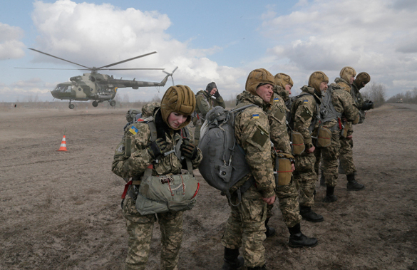 Лучший способ избежать отправки в«АТО» отыскали вУкраинском государстве