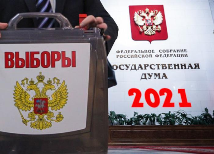выборы в России, выборы - 2021