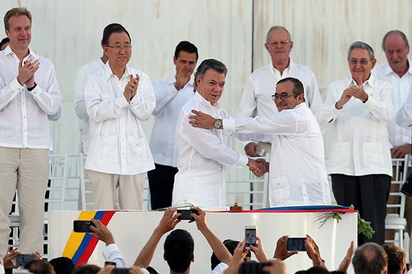 В Колумбии окончена полувековая кровавая война с ФАРК