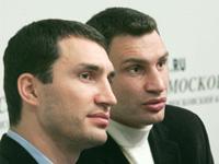 Братья Кличко решили побить друг друга