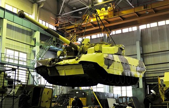 Вспомнить 90-е: Ротшильды готовятся скупить стратегические объекты дефолтящейся Украины. танковый завод, танк, производство, промышленность