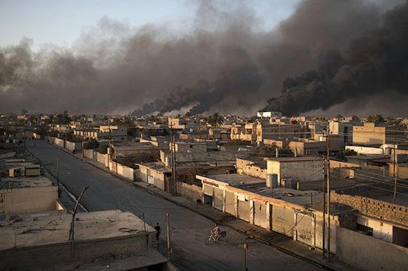 Минобороны РФ: В Мосуле от ударов ВВС США пострадали школа и меч