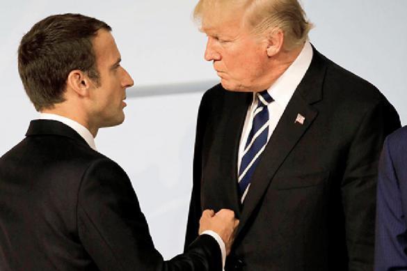Макрон хамит Трампу: старый мировой порядок рушится на глазах. 387872.jpeg