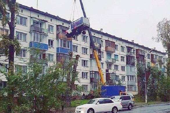 """Влюбленный из Бийска взлетел на """"ГАЗели"""" на пятый этаж. 375873.jpeg"""
