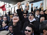 На митинге в Тбилиси собрались 50 тысяч оппозиционеров