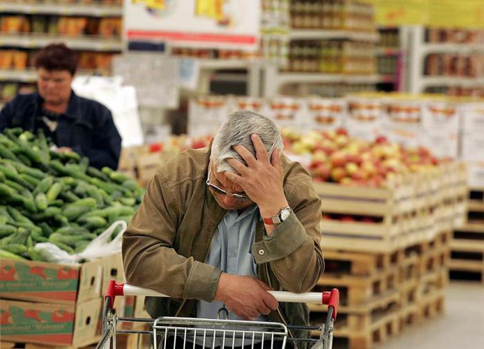 Соцопрос россиян: взлет цен на фоне страха эпидемии