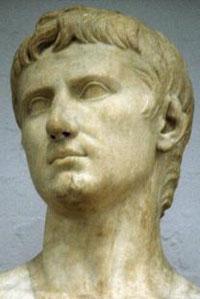 Приемный сын Цезаря - император Октавиан Август