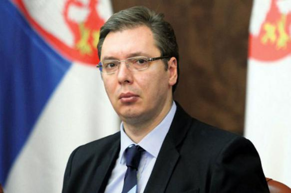 Президент Сербии пообещал наказать протестующих сербов. 400876.jpeg