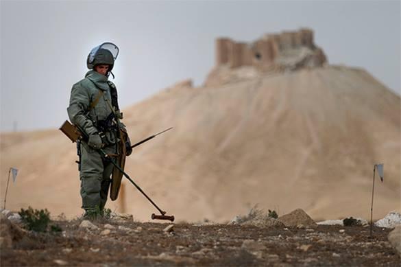 Дэйр-эз-Зора будут разминировать сирийские саперы, обученные российскими инструкторами. 375877.jpeg