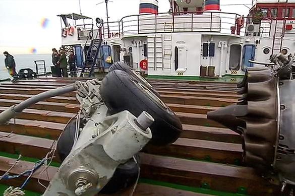 Эксперимент в небе установит причины катастрофы Ту-154