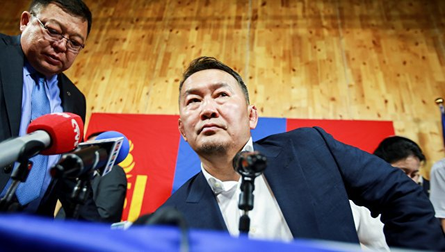 Новым президентом Монголии стал дзюдоист Халтмаагийн Баттулга