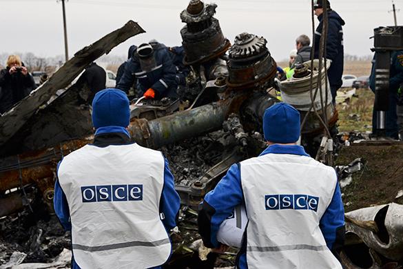 Наблюдатели ОБСЕ попали под обстрел на Украине. наблюдатели ОБСЕ