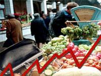 Инфляция в России превышает рост цен в ЕС в десять раз