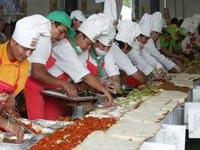 Мексиканцы соорудили 45-метровый бутерброд