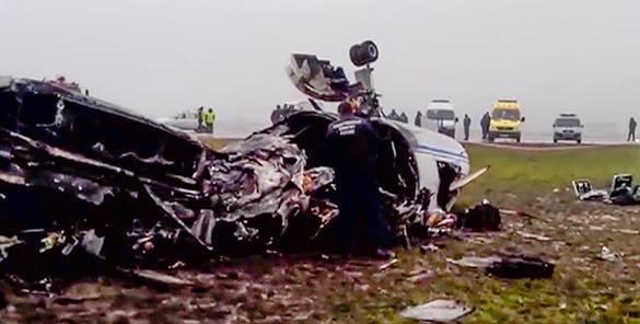 СМИ: В авиакатастрофе во